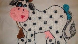 bordado vaca fantasia 348 marimur