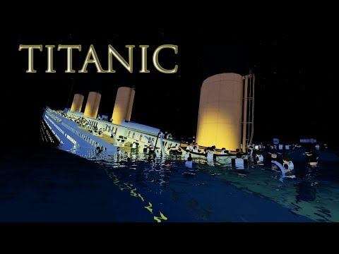 roblox titanic sinking games
