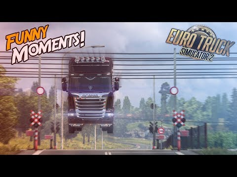 Euro Truck Simulator 2 Multiplayer Funny Moments & Crash Compilation #88