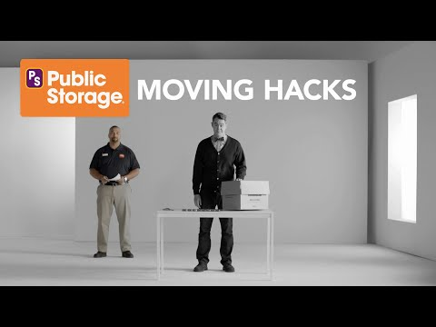 Easy Packing and Moving Hacks