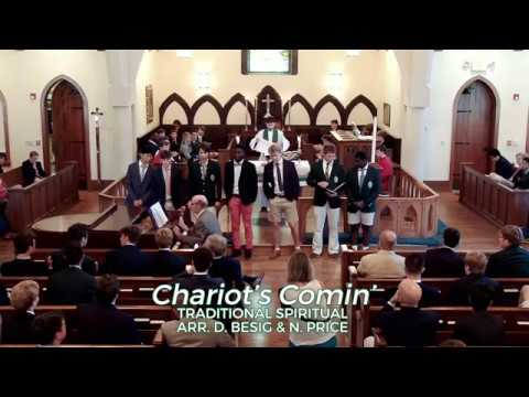 "The Christ School Choir sings ""Chariot's Comin'"""
