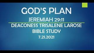 GOD'S PLAN - JEREMIAH 29:11