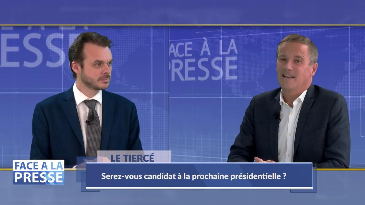 Face à la Presse avec Nicolas DUPONT-AIGNAN - PARTIE 2