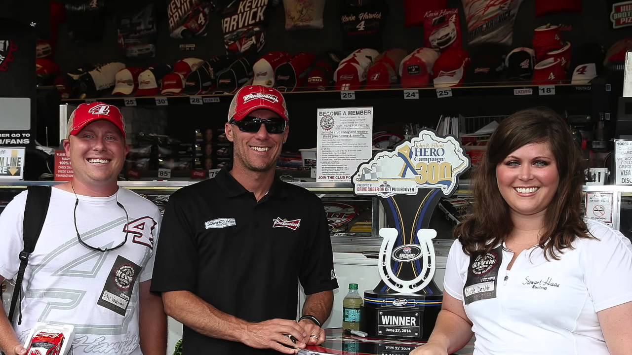 Kevin Harvick Fan Club Meet And Greet Youtube