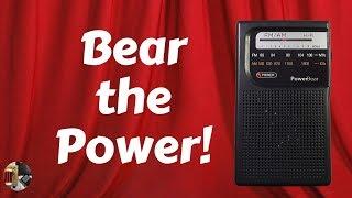 PowerBear AM FM Portable Radio Review