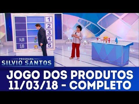 Jogo dos Produtos - Completo | Programa Silvio Santos (11/03/18)