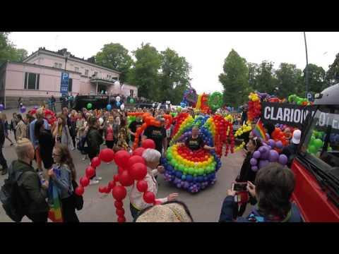 Helsinki Pride Parade 2017