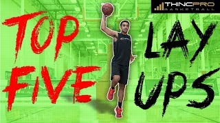 How to: Basketball Layup SECRETS! Top 5 Ways to Shoot a LAYUP in Basketball!!!