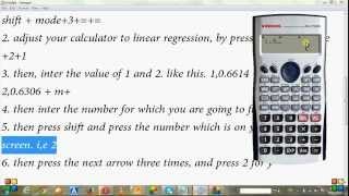 Linear interpolation: on simple scientific Calculator(this is videos is how perform linear interpolation on a simple scientific calculator like casio fx-85MS . It helps to find the value of missing number between two ..., 2015-10-05T11:33:35.000Z)
