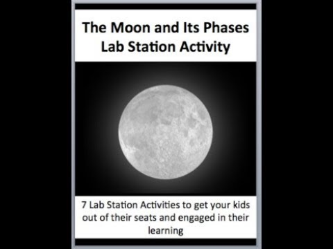 The Moon And Its Phases 7 Engaging Lab Station Activities By
