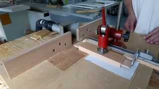 Diy MDF Router Table With Sliding Table (complete Video)