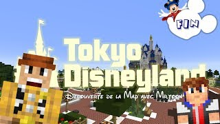 Minecraft | Visite de la Map Tokyo Disneyland par MarblePiggy #8 Final - [HD]