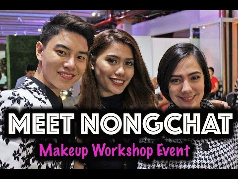 VLOG: NONGCHAT MAKEUP WORKSHOP + Bohktoh and Nippon Event + oeuvretrends