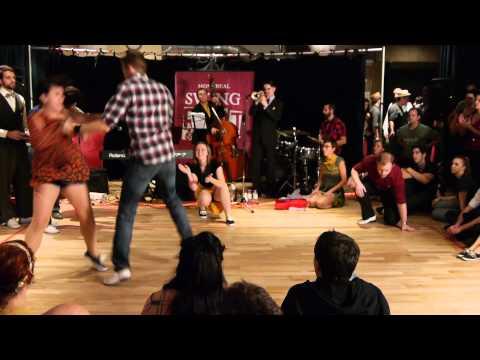 Montreal Swing Riot - Lindy Hop Battle - Top 8 Tiebreaker