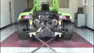 Lamborghini Gallardo twin turbo Sound- 1000 horsepower