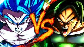 BROLY Vs. GOGETA   Dragon Ball Super Broly Battle   BTH GAMES Ft. JAY-F - 2019