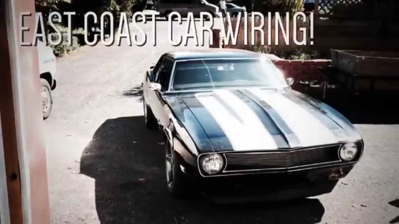 maxresdefault 1968 camaro wiring installation youtube 68 camaro wiring harness install at eliteediting.co