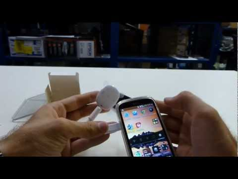Samsung W1 Pebble Music Player Unboxing und Hands On [DE]