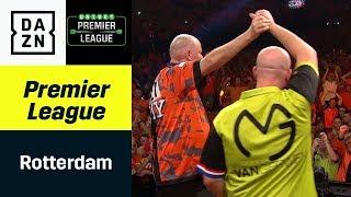 Kracherduell zwischen Raymond van Barneveld und Michael van Gerwen | Premier League of Darts | DAZN