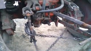 Как отрегулировать плуг на тракторе т 25 , регулировка плуга своими руками