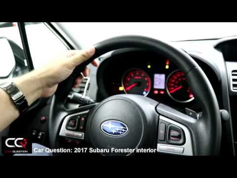 2017 Subaru Forester Interior / THE Most Complete Review! / Part 2/8