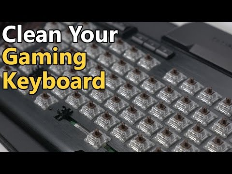 How-To Clean A Mechanical Gaming Keyboard | 2016