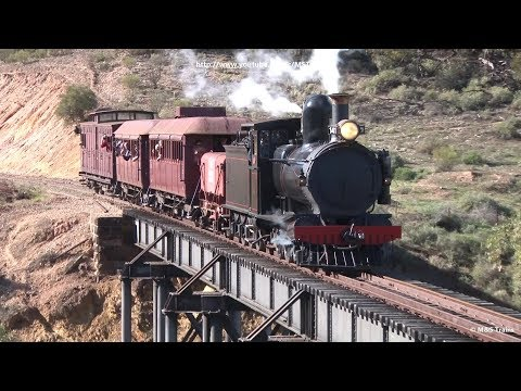 SAR YX141 leads Pichi Richi Railway Charter: Quorn to Woolshed Flat (Part 1)