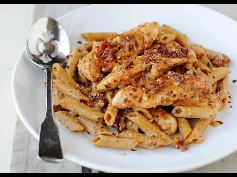 Sun-dried Tomato Chicken & Pasta Skillet Meal