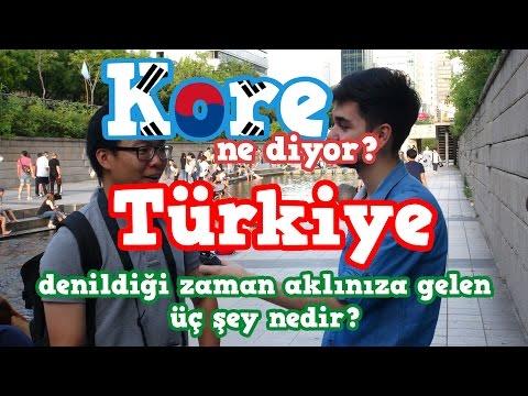 Kore Ne Diyor? | Türkiye denildiğinde aklınıza gelen 3 şey nedir?