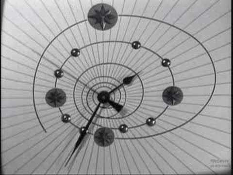 l'horloge spiralle de l'ortf