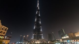 The Burj Khalifa, Dubai (Day & Night)