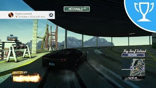 Burnout Paradise (PS4) - 750yd Drift inside the Inspiral Car Park Trophy / Achievement Guide