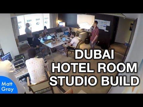Dubai Hotel Room Studio Build