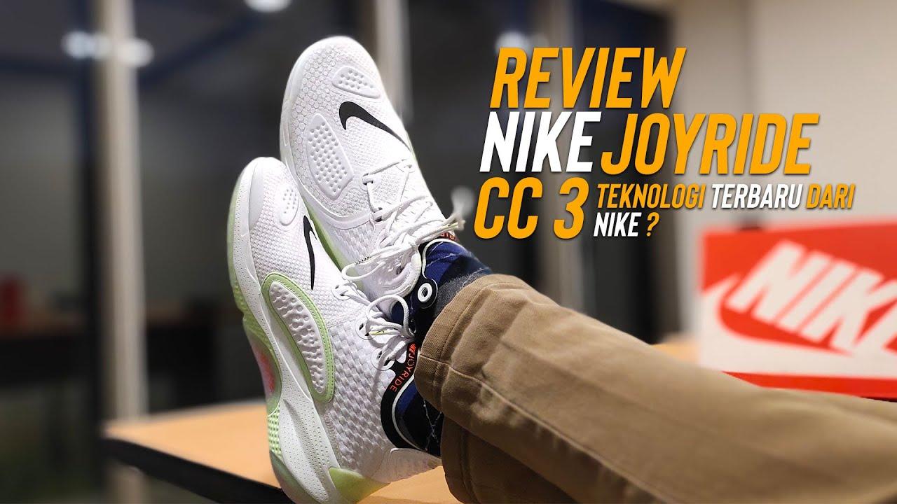 Review Sepatu Nike Joyride Cc3 Sneakers Dengan Cushioning
