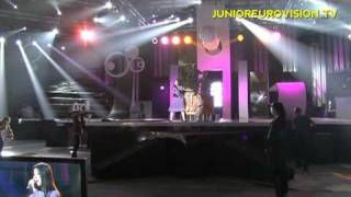 First rehearsal of Ekaterina from Russia - Kyiv 2009