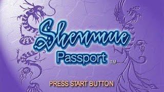 Shenmue's Passport Disc