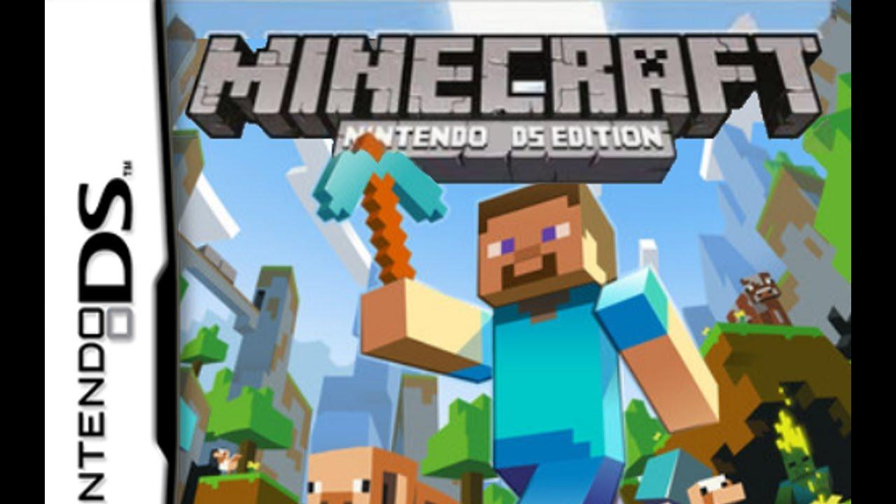 Minecraft For DS GAMEPLAY YouTube - Minecraft ds spiele