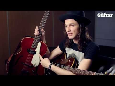 James Bay interview: Epiphone Century Guitars