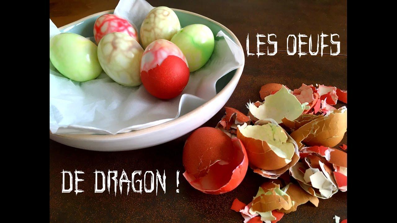 Halloween Les Oeufs De Dragon Youtube