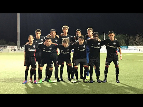 RJ Ray #5 with DC United U14  vs TTFA 1-1 5/5/17