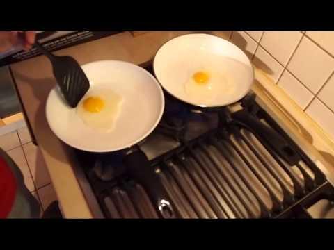 Сковорода чугунная с керамическим покрытием. Сковородки