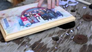 How to transfer pictures to wood! || Easy