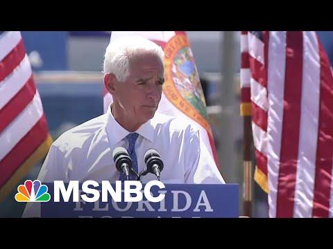 Florida Rep. Charlie Crist Announces Run For Governor   Craig Melvin   MSNBC