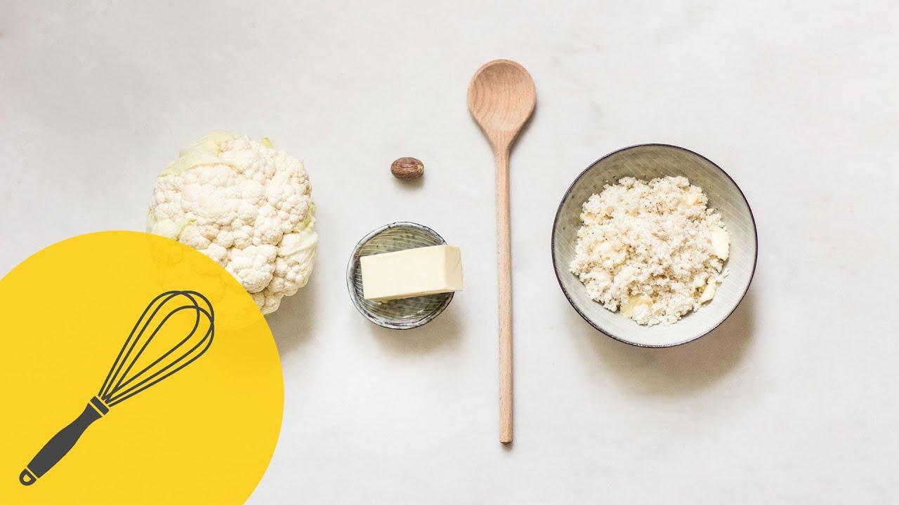 Reis Aus Blumenkohl Selber Machen Glutenfrei Und Low Carb