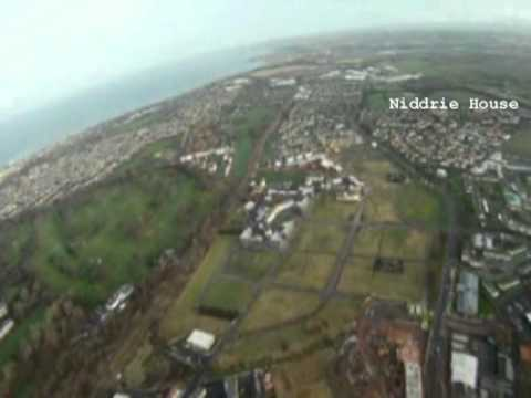 A flight over Craigmillar And Niddrie - 2011