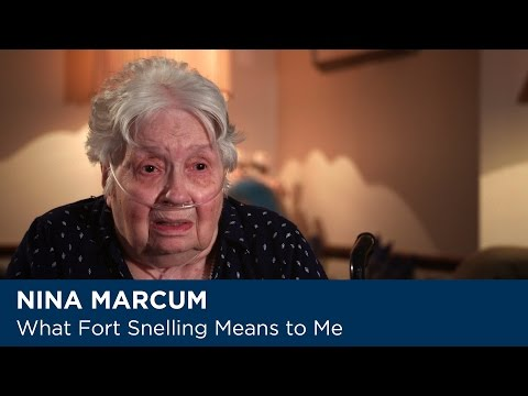 Nina Marcum - What Fort Snelling Means to Me