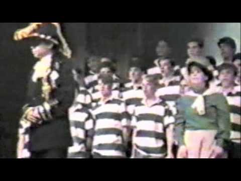 HMS Pinafore Highlights - Germantown Friends School - 1987