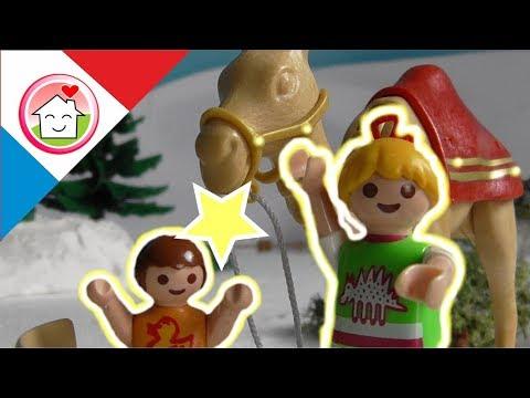 Playmobil en français la veille de Noël - La famille Hauser