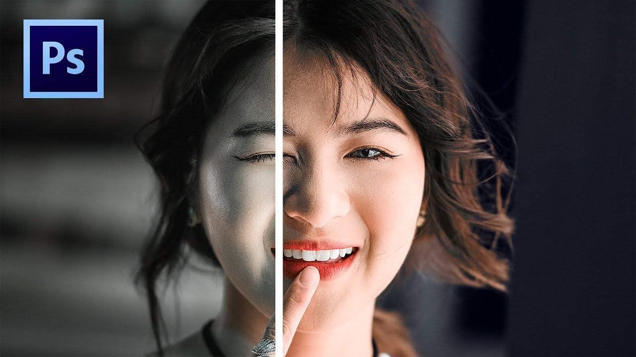 TIP Làm MÀU DA TƯƠI VÀ ĐẸP trong Photoshop | Get RICH SKIN Tones in Photoshop