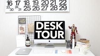 Minimal Desk Tour: How I Organize My Workspace